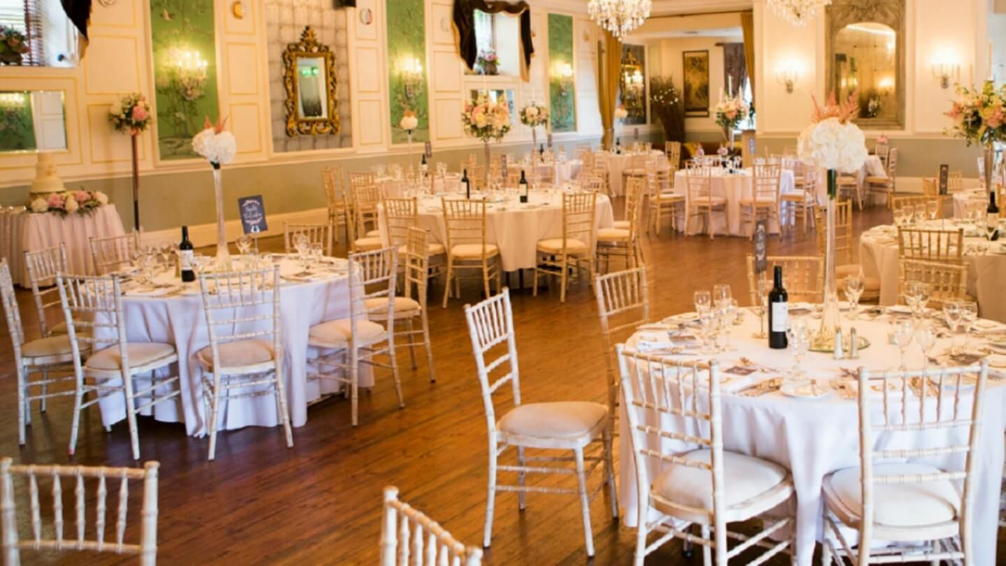 Real Weddings Castle Durrow: Wedding Dinner At Castle Durrow